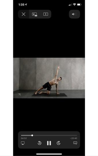 personalized workout training skill yoga app