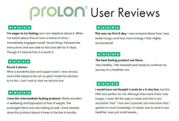 prolon user reviews