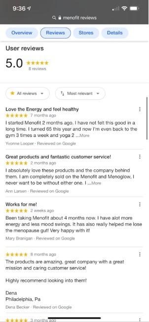 real menofit user reviews 5