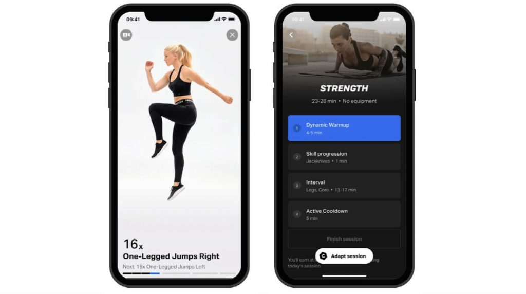 review of freeletics workout app featured image