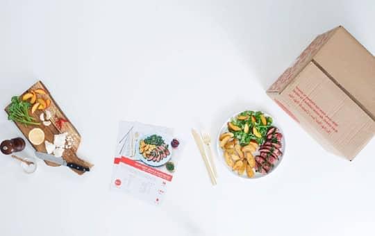 saving money shopping on chef plate's website