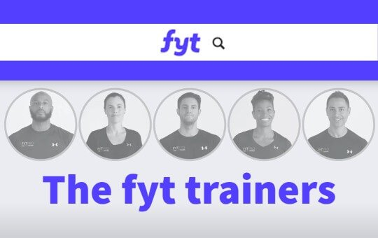 the team of find your trainer personal trainers