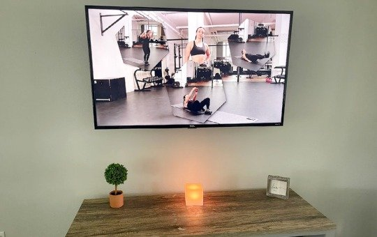freeletics workout on Tami's TV and rating it