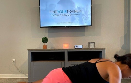 tami tries fyt personal training from home