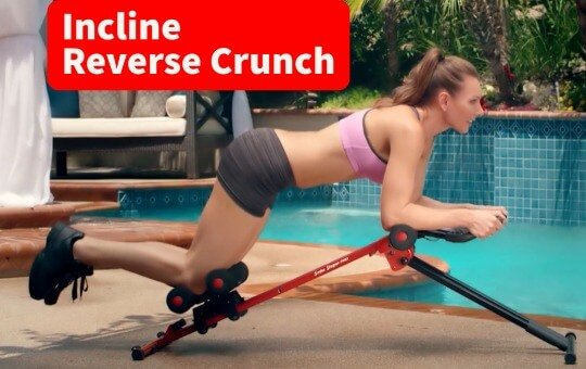 using side shaper for abs workout