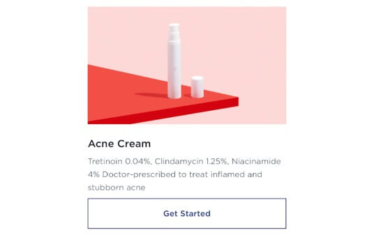 acne cream by wisp