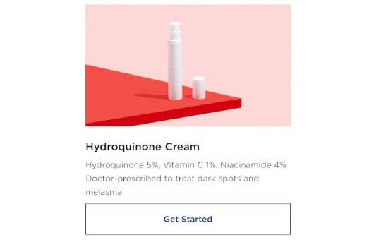 hydroquinone cream by wisp