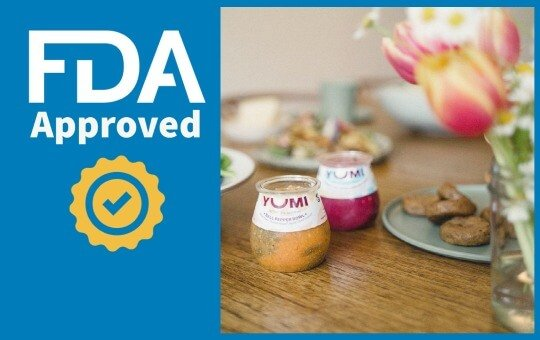 yumi baby food FDA approved
