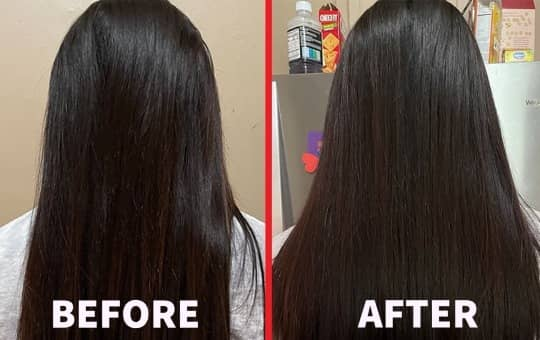 hairtamin before and after review