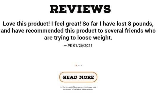 customer reviews- essential elements