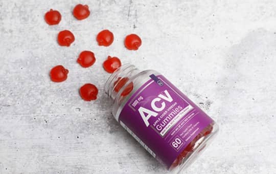 acv gummies by essential elements nutrition