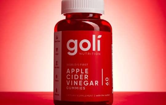 best overall acv gummy - goli nutrition