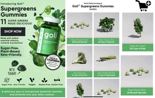 goli's supergreens gummies are worth it