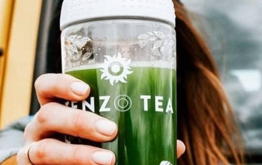 verifying review holding tenzo tea