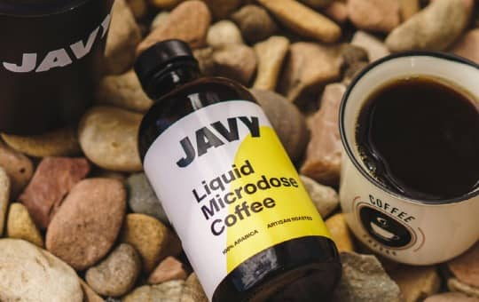 liquid microdose coffee by javy