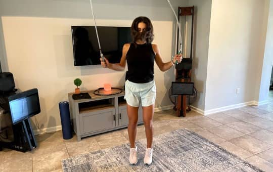 jump rope exercise trend with crossrope