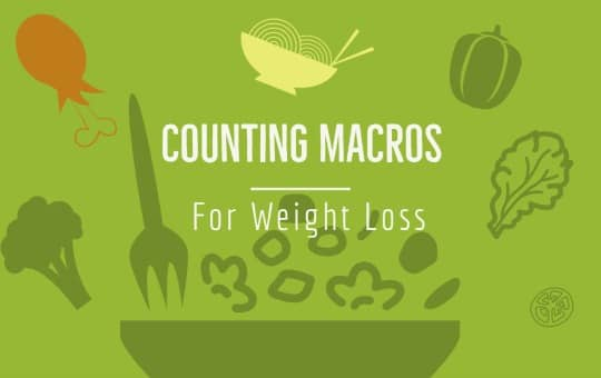 macro counting losing weight results