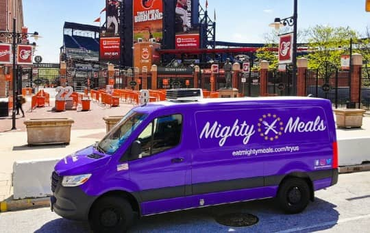 delivery zones for mighty meals