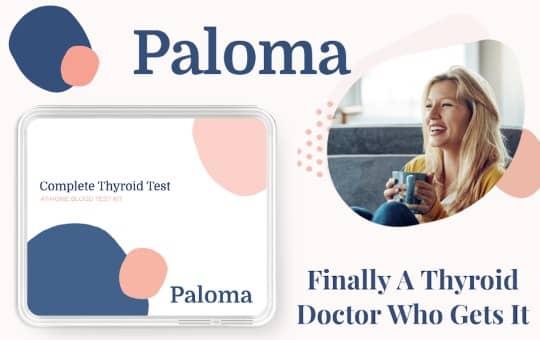 thyroid test by paloma health
