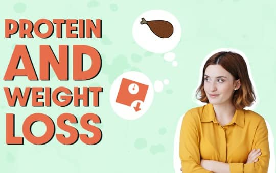 protein and weight loss importance