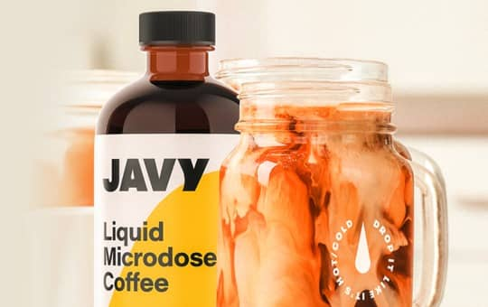 javy coffee liquid microdose with cold brew