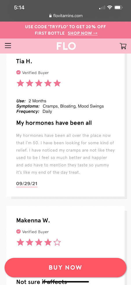 real customer reviews flo gummies 2