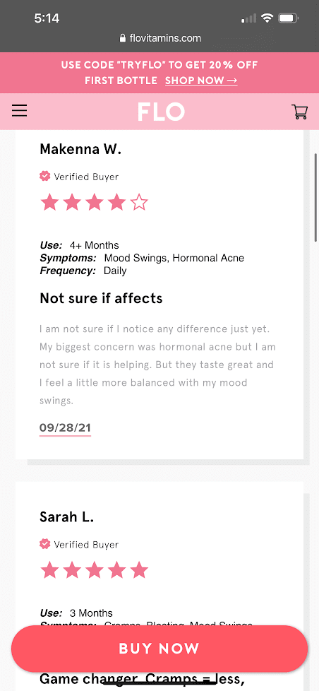 real customer reviews flo gummies 3