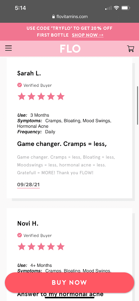 real customer reviews flo gummies 4