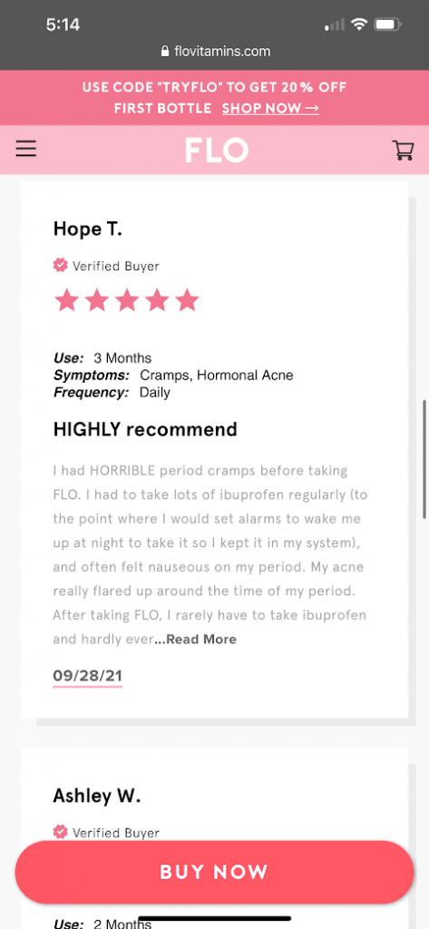 real customer reviews flo gummies 6