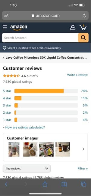 real reviews of javy coffee 4