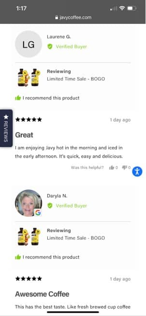 real reviews of javy coffee 8