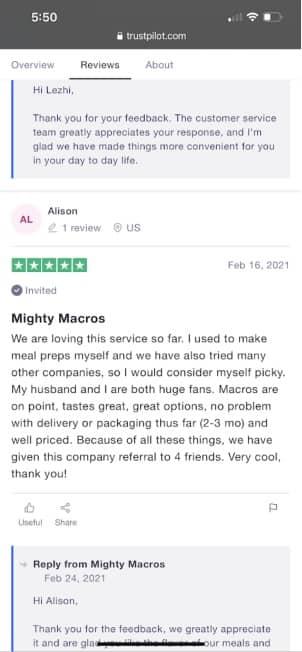 real customer review mighty macros 4