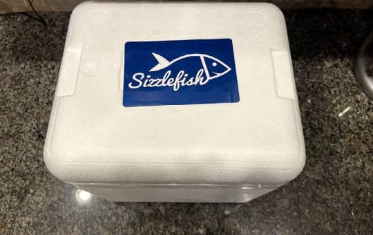 sizzlefish delivery box