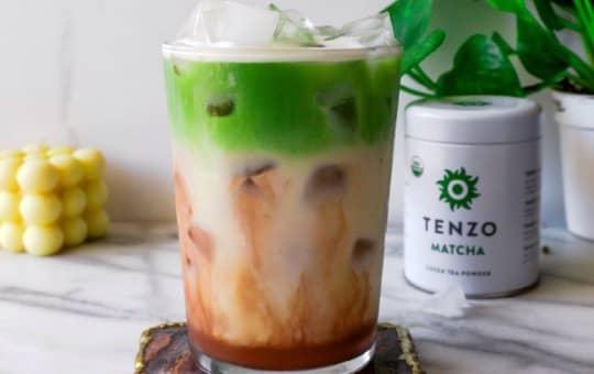 tenzo matcha specialty drink 2