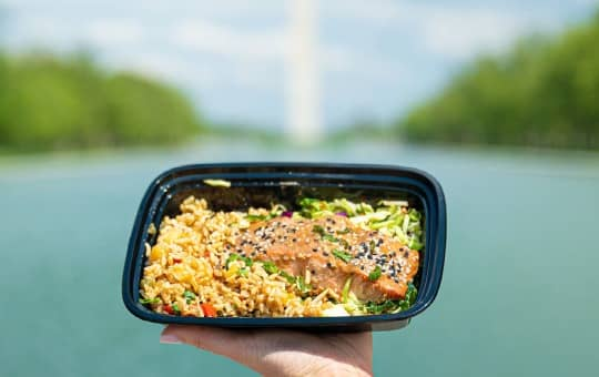 verified review of mighty meals (holding the meal)