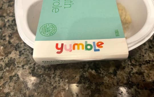 yumble logo on meal