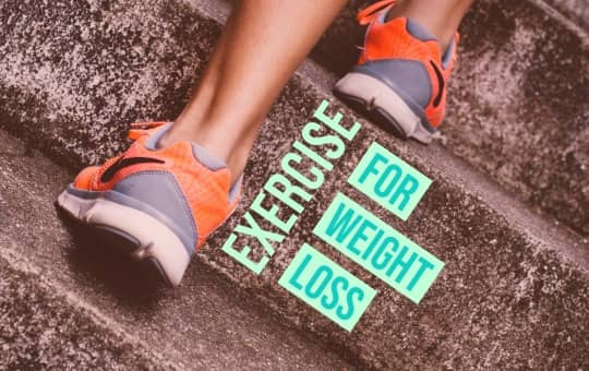 exercise and weight loss journey