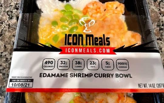 brand logo on food label