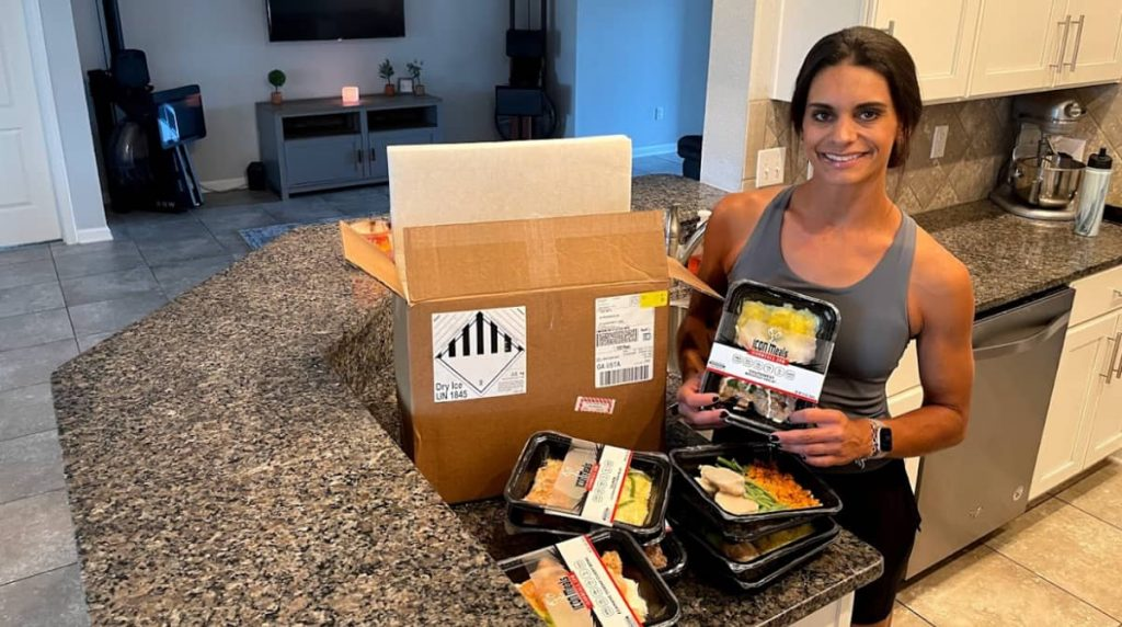 review of ICON Meals delivery and food