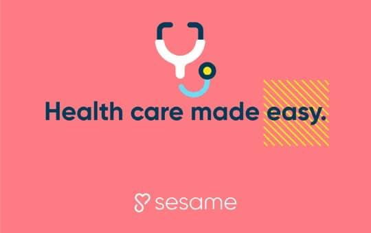 health care made easy with sesame care