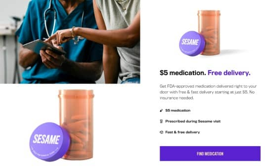 FDA approved medication by sesame